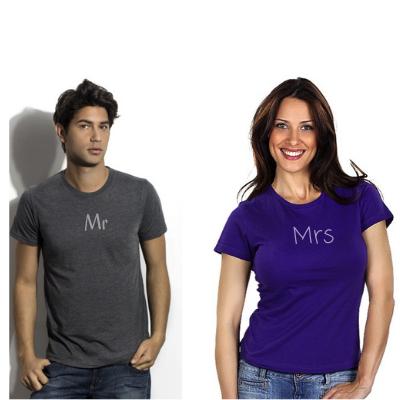 Štampa na majicama, muški i ženski model